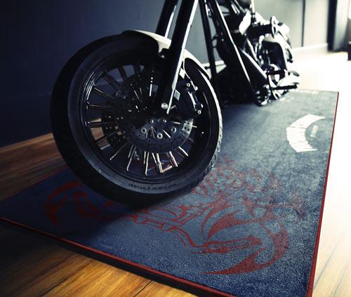 BIKERUG Teppich Muster 01